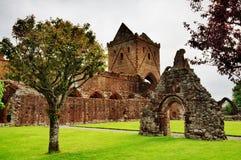 Ansicht von Schatz Abtei, Dumfries und Galloway Lizenzfreie Stockfotografie