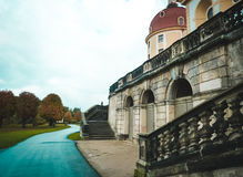 Ansicht von Schloss Morizburg in Deutschland Lizenzfreie Stockfotos