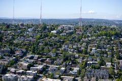 Ansicht von Seattle Lizenzfreie Stockfotos