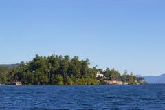 Ansicht von See George Lizenzfreies Stockfoto