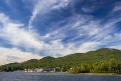 Ansicht von See George Stockfoto