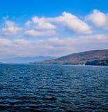 Ansicht von See George Stockbild