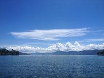 Ansicht von See Toba, Sumatra Lizenzfreie Stockbilder