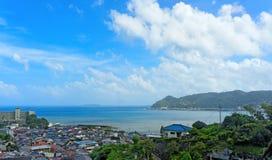 Ansicht von Shizuoka, Japan Stockbilder
