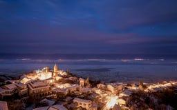 Ansicht von Sighnaghi Liebes-Stadt georgia Lizenzfreie Stockfotografie