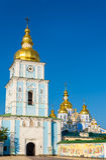 Ansicht von St. Michael Golden-Domed Monastery in Kiew Lizenzfreies Stockbild