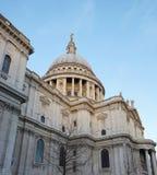 Ansicht von St Paul Kathedrale Lizenzfreie Stockfotos