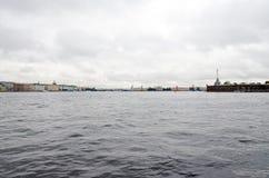 Ansicht von St Petersburg Lizenzfreies Stockfoto