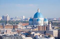 Ansicht von St Petersburg Lizenzfreie Stockfotografie