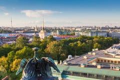 Ansicht von St Petersburg Stockbilder