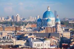 Ansicht von St Petersburg Stockfotografie