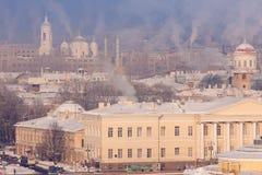 Ansicht von St Petersburg von der Kolonnade Lizenzfreie Stockfotos