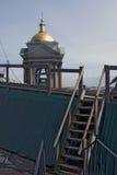Ansicht von St- Petersburgstadt, Russland, von der Dachspitze des Heiligen Isaak Cathedral Stockfoto