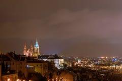 Ansicht von St Vitus Cathedral Lizenzfreies Stockbild