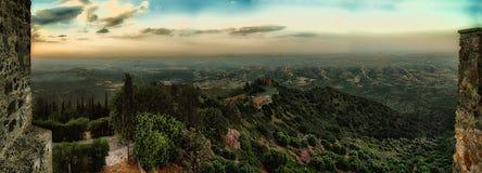 Ansicht von Stavrovouni-Kloster Lizenzfreie Stockfotografie