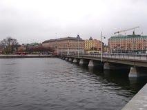 Ansicht von Stockholm Lizenzfreies Stockbild