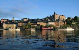 Ansicht von Stockholm Lizenzfreie Stockfotos
