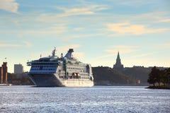 Ansicht von Stockholm-Stadt Lizenzfreie Stockbilder