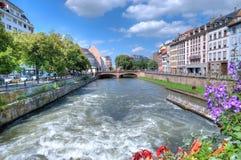Ansicht von Straßburg Stockbild
