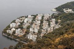 Ansicht von Sugar Loaf in Rio de Janeiro stockbild