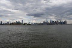 ANSICHT VON T2O-ZUSTÄNDE _NEU - Jersey UND NEW YORK stockfotografie