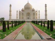 Ansicht von Taj Mahal India stockfotos