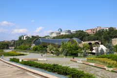 Ansicht von Tbilisi, Georgia stockfoto
