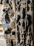 Ansicht von Tempel Sri Jalakandeswarar in Vellore stockfoto