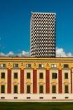 Ansicht von Tirana lizenzfreies stockfoto