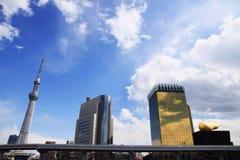 Ansicht von Tokyo-skytree Stockbild