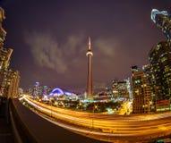 Ansicht von Toronto im Stadtzentrum gelegen stockfotografie
