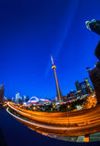 Ansicht von Toronto im Stadtzentrum gelegen stockfotos