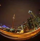 Ansicht von Toronto im Stadtzentrum gelegen lizenzfreie stockbilder