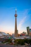Ansicht von Toronto im Stadtzentrum gelegen lizenzfreies stockfoto