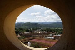 Ansicht von Trinidad de Cuba Stockbild