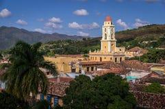 Ansicht von Trinidad, Kuba stockbilder