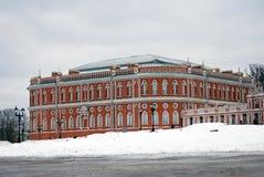 Ansicht von Tsaritsyno-Park in Moskau Lizenzfreie Stockbilder