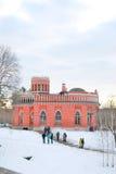 Ansicht von Tsaritsyno-Park in Moskau Lizenzfreies Stockbild