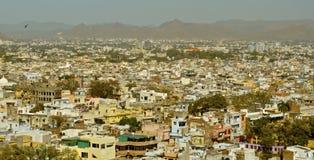 Ansicht von Udaipur Stockbild