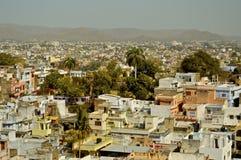 Ansicht von Udaipur Stockfotografie