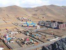 Ansicht von Ulan Batar, Mongolei Stockfotografie