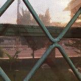 Ansicht von unserem Fenster Lizenzfreie Stockfotografie