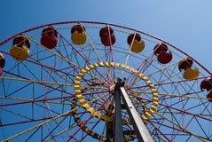 Ansicht von unten über das Riesenrad Lizenzfreies Stockfoto