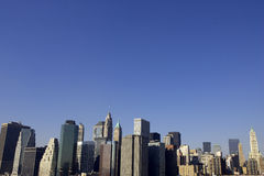 Ansicht von untererem Manhattan Lizenzfreies Stockfoto