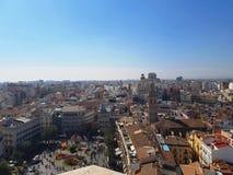 Ansicht von Valencia - Blick unten Lizenzfreie Stockfotos