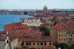 Ansicht von Venedig Italien Lizenzfreies Stockbild