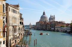 Ansicht von Venedig am sonnigen Tag Stockbilder