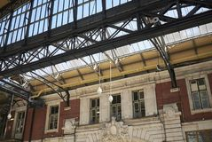 Ansicht von Victoria-Station stockfoto
