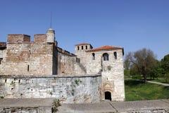 Ansicht von Vidin, vom bulgarischen Schloss und von den Umgebungen lizenzfreie stockbilder