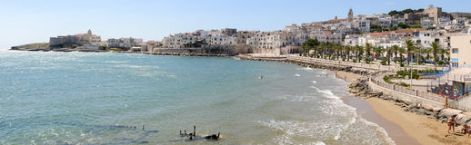Ansicht von Vieste auf Puglia Lizenzfreie Stockbilder